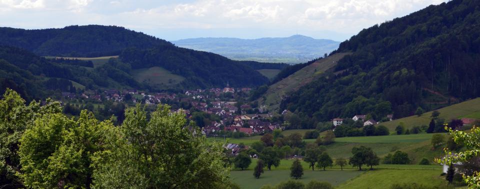 Ausblick vom Dilgerhof